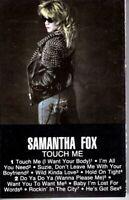 Samantha Fox Touch Me 1986 Cassette Tape Album Pop Dance Rock 80s 90s