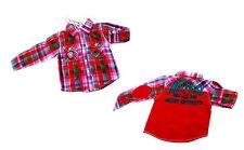 Markenlose karierte Baby-T-Shirts, - Polos & -Hemden für Jungen