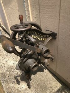 Vintage Buffalo Forge Post Drill Press
