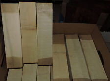 Holly Wood Blank Lumber 3x3x12 Woodworking Pool Cues Box Calls Piano Keys Timber