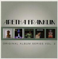 ARETHA FRANKLIN - ORIGINAL ALBUM SERIES VOL.2 5 CD NEU