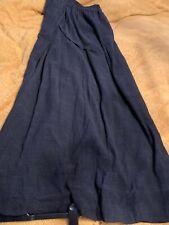 AMAZING RUNDHOLZ BLACK WOOL Grey Long Skirt