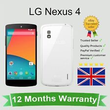 Unlocked LG Nexus 4 Android Mobile Phone - 16GB White