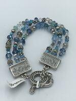 Brighton OPHELIA JEWELS Blue Bracelet NWT $70