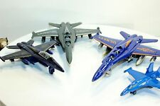 Blue Angels Toy Model Die Cast Metal Airplanes Children Toys set of 4