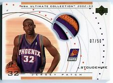 2002-03 Ultimate AMARE STOUDEMIRE 2 Color Jersey Patch RC Rare SP Suns #/50