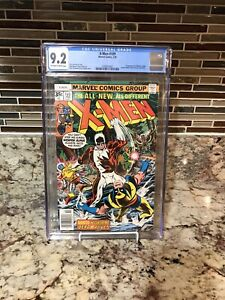 X-Men #109 1st Weapon Alpha CGC 9.2 White Higher Grade Key Alpha Flight Guardi