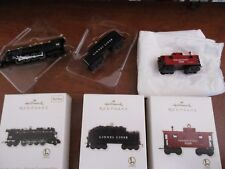 Set of 3 Hallmark 2011 Lionel726 Berkshire Steam Locomotive Tender Caboose Train
