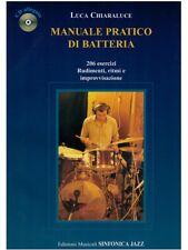 Sinfonica Jazz Manuale pratico di batteria con Cd