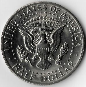 """1971 LIBERTY """"IN GOD WE TRUST"""" KENNEDY HALF DOLLAR.     SEE SCANS FOR GRADE."""
