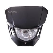 Black Headlight Fairing Lamp For Suzuki DRZ 400 400SM 400E RM 80 125 250 RMZ250