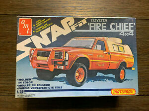 AMT Toyota Fire Chief 4x4 pickup truck 1/25 NIOB! *VINTAGE* ▓RARE▓ SNAP FIT