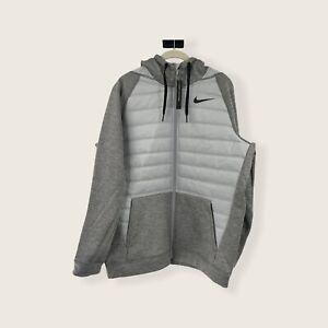 Nike Men's Therma Winterized Full Zip Training Hoodie Jacket BV6298-063 Size M