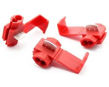 50 x Abzweigverbinder Kabelverbinder Schnellverbinder Stromdiebe rot AWG 22-16