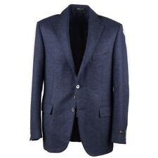NWT $1695 CORNELIANI Darker Blue Soft Wool-Silk-Linen Sport Coat 40 R (Eu 50)