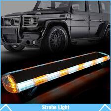 """47"""" 88 LED Strobe Light Bar Amber/White Emergency Beacon Warn Tow Truck Response"""