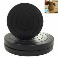 Turntable Pottery Clay Sculpture Tools 360°Flexible Rotation Wheel DIY US STOCK