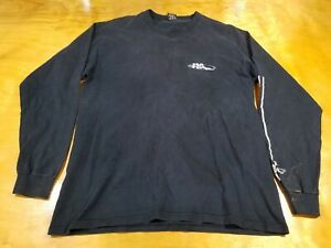 vtg 90s NO FEAR Fear Just Another Four Letter Word Long Sleeve Shirt Medium