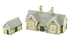 Hornby Skaledale R9836 Granite Station Building Resin OO Gauge 1:76 Scale