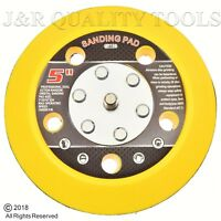 "5"" SANDING PAD HOOK & LOOP FACE FOR DA SANDER PALM D/A SANDER SANDING DISC"