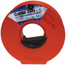 Camping, Caravan, Camping Cable Tidy Reel for 25m Mains Hook Up Lead Extension.