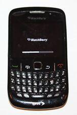 BlackBerry Curve 8530 - Black (Sprint) QWERTY Phone--AS-IS/Error 523-Clean ESN