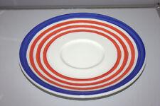 Rosenthal CASUAL Designers Guild UNTERTELLER  19,5 cm rot blau Cup