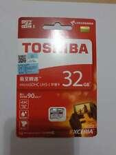 TOSHIBA 32GB C10 UHS-1 U3 Micro SD MicroSDHC MicroSD SDHC Flash Memory Card
