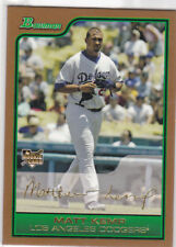 MATT KEMP ROOKIE CARD 2006 Bowman GOLD Insert RC Lost Angeles Dodgers Baseball