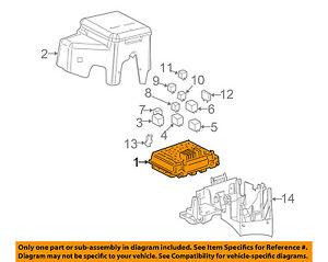 GM OEM Electrical Fuse Relay-Junction Block 15786043