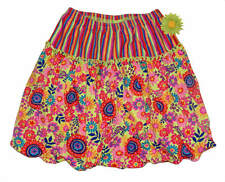 HANNA ANDERSSON Flowerbox Floral Stripe Bubble SKIRT 130 7-10 Yrs 7 8 9 10