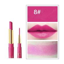 Multifunct Waterproof Lipstick Pen Matte Lip Liner Pencil Long Lasting Makeup 8#