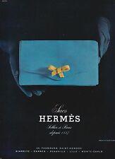 ▬► PUBLICITE ADVERTISING AD Hermès Sac 1967