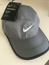 NIKE Aerobill Featherlight Dri-Fit Hat Adult Unisex grey - new with tags