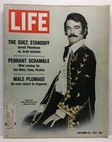 Life Magazine Vintage Back Issue September 25 1970 Takis Emmanuel Greek Actor