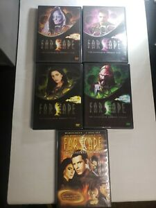 Farscape: The Complete Series + The Peace Keeper Wars (DVD, 2013)