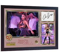 Ariana Grande pop R&B Music signed autograph photo print Framed