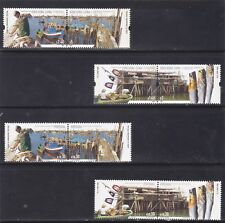 PORTUGAL / HONG KONG SETS FISHING VILLAGES PORTUGAL JOINT ISSUE ON  (2005) MNH