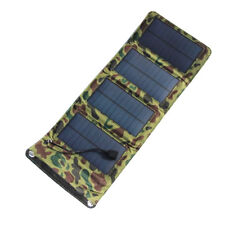 Portable Solar Panel Outdoor Travel Foldable Charger Power Bank With USB Port
