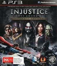 Injustice Gods Among Us Ultimate Edition (PS3, 2013)