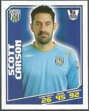 TOPPS TOTAL FOOTBALL-2009- #421-WEST BROMWICH ALBION-SCOTT CARSON