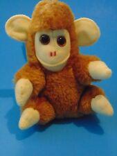 """Kamar 1960's 70's 5"""" tall Animal NICE!!! VINTAGE STUFFED MONKEY"""