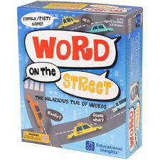Educational Insights Word on The Street Game NEW