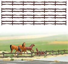 BUSCH HO SCALE ~ FARM FENCES ~ PLASTIC 1/87 MODEL #6008