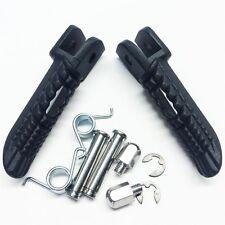 FOR Suzuki GSX-R GSXR 1000 2001 2002 03 2004-2014 Black Front Foot Pegs Footrest