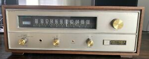 The Fisher Professional FM-100C  FM-MPXVintage Stereo Tube Tuner w/ cabinet