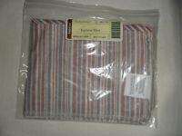 Longaberger Letter Tray Basket Fabric Liner in Market Stripe #28677130 NEW