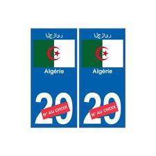 Algérie رئازجلا sticker numéro département au choix autocollant plaque immatricu