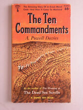 THE TEN COMMANDMENTS by A. Powell Davies 1956 SIGNET PB