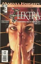 """ELEKTRA (2001) #'s 18, 19, 20, 21, 22 """"EVERYTHING OLD IS NEW AGAIN"""" COMPLETE"""